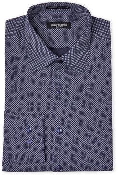 Pierre Cardin Navy Slim Fit Dress Shirt