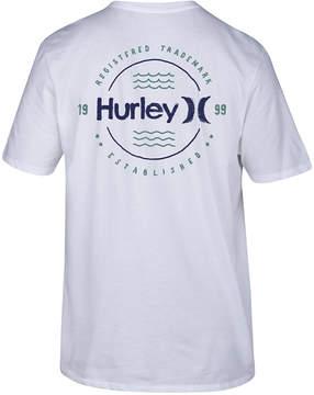 Hurley Men's Wavelength Logo-Print T-Shirt