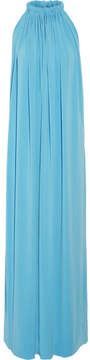 By Malene Birger Nannio Stretch-crepe Maxi Dress - Blue