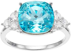 Brilliance+ Brilliance Cushion Ring with Swarovski Crystals