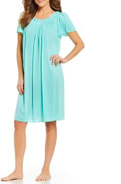 Miss Elaine Petite Tricot Nightgown
