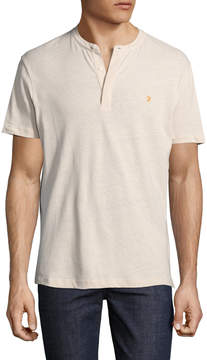 Farah Men's Weddell Cotton Solid Tee