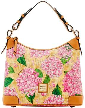 Dooney & Bourke Hydrangea Basketweave Hobo - PINK - STYLE