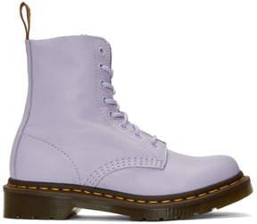 Dr. Martens Purple Pascal Ankle Boots