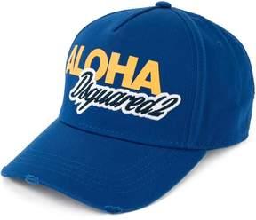 DSQUARED2 Aloha logo baseball cap