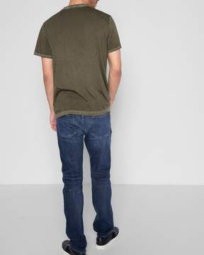 7 For All Mankind Luxe Sport The Straight with Clean Pocket in Authentic Euphoria