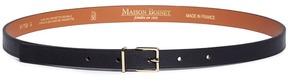 MAISON BOINET Cowhide leather skinny belt