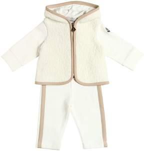 Moncler Cotton Interlock Sweatshirt & Leggings