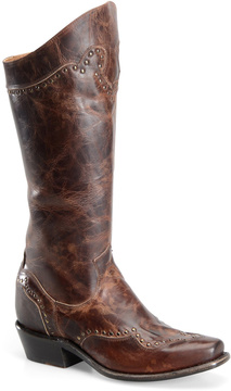 Sonora Brown Shelli Leather Cowboy Boot