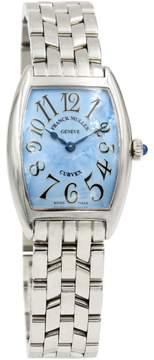 Franck Muller Curvex 1752 QZ Stainless Steel Mens Watch