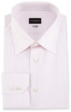 Ermenegildo Zegna 100Fili Striped Dress Shirt