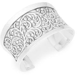 Lois Hill Large Repousse Cuff Bracelet