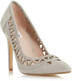 Dune London BILLEY - GREY Pointed Toe Cut Out Detail Pump