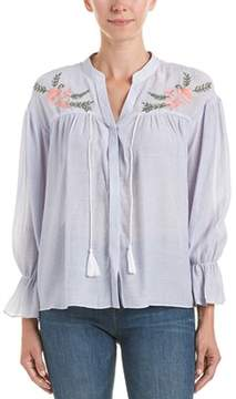 En Creme Total Embroidered Top.