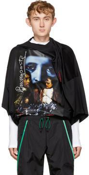 Y/Project Y-Project Black Oversized Slim Shady T-Shirt