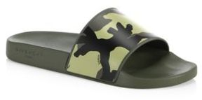 Givenchy Camo Rubber Slides