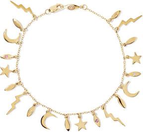 Andrea Fohrman 14-karat Gold Sapphire Bracelet
