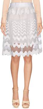 Cutie Knee length skirts