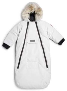 Canada Goose Infant's Fur-Trim Bunting