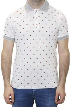 fe-fe Fefe' - Pique Cotton Printed Polo Shirt