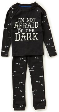 Joules Little Boys 3-6 Not Afraid of the Dark Top & Pants Pajama Set
