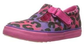 Keds Daphne T-strap Hook & Loop Sneaker.