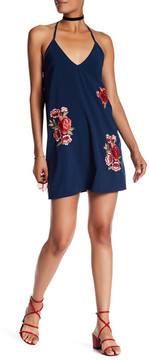 Dee Elly Embroidered Strappy Back Dress