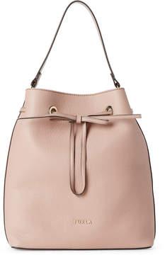Furla Moonstone Costanza Medium Drawstring Bucket Bag