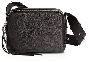 AllSaints Vincent Pebbled Leather Crossbody
