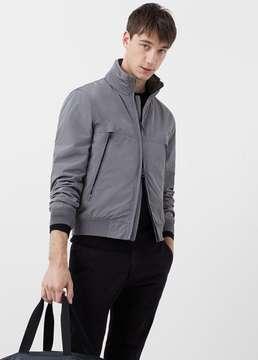 Mango Outlet Pocket nylon jacket