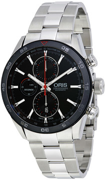 Oris Artix GT Black Dial Men's Chronograph Watch