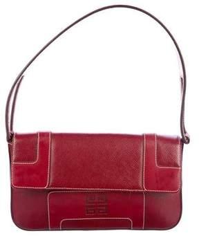 Givenchy Textured Leather Shoulder Bag