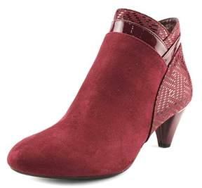 Karen Scott Cahleb Round Toe Canvas Ankle Boot.