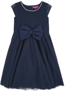 Derhy Kids Bow tulle dress