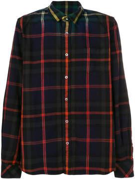 Sacai Ombre plaid shirt