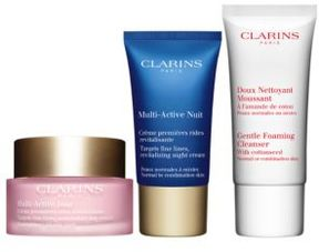 Clarins Muti-Active Skin Starter Kit for Normal and Combination Skin