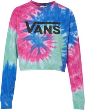 Vans Dye Job Crop Crew – Womens – Tie Dye