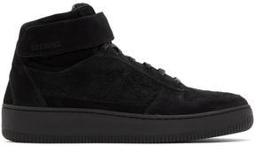Diemme Black Suede Brenta Alto High-Top Sneakers