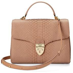 Aspinal of London Mayfair Bag In Pheasant Snake