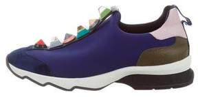 Fendi Studded Rainbow Sneakers