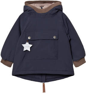 Mini A Ture Blue Nights Wen Baby Jacket