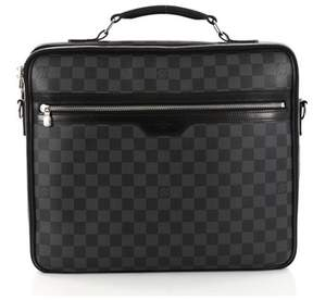 Louis Vuitton Pre-owned: Steeve Briefcase Damier Graphite.