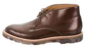 Paul Smith Metallic Leather Desert Boots