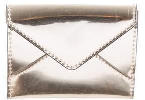 Rebecca Minkoff Metallic Leather Wallet - GOLD - STYLE