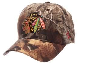 Zephyr Adult Chicago Blackhawks Patent Camo Snapback Cap