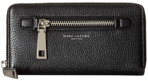 Marc Jacobs Gotham Continental Wallet Wallet Handbags - BLACK - STYLE