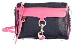 Rebecca Minkoff Leather M.A.C. Crossbody Bag - BLACK - STYLE