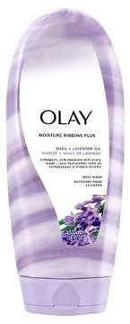 Olay Moisture Ribbons Plus Shea + Lavender Oil Body Wash - 18oz