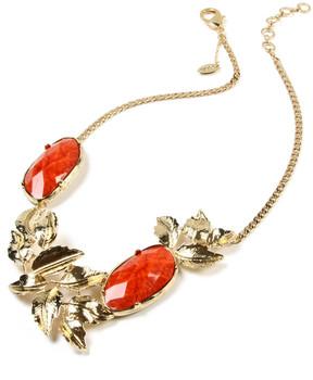 Amrita Singh Coral & Goldtone Lindian Necklace