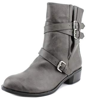 Style&Co. Style & Co. Style & Co Baxten Women Pointed Toe Synthetic Gray Ankle Boot